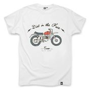 Mens Cross T-Shirt (White)