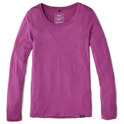 Womens Merino Eddy Long Sleeve T-Shirt (Orchid)