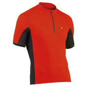 Mens Force Short Sleeve Jersey (Red)