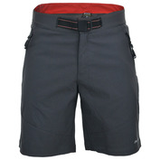 Mens Davis Softshell Shorts (Dark Shadow/Black)
