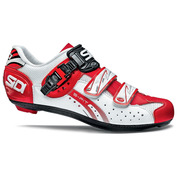 Mens Genius 5 Fit Road Shoes (White/White/Red)