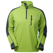 Mens Gent Thermo-Jersey Pullover (Green Lime)