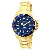 Mens Pytheas Watch (Gold/Navy/Navy)