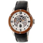 Mens Montclair Watch (Black/Brown/Silver)