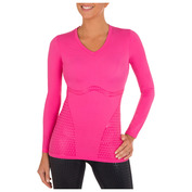 Womens Ultimate Body Support Long Sleeve Top (Pink)