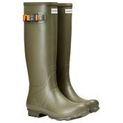 Womens Norris Field Wellington Boots (Moor Green)