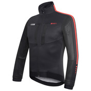 Mens DualCell Jacket (Black/Red/White)
