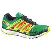 Mens X-Scream Shoes (Sinople Green\/Orange\/White)