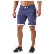Mens Legacy Shorts (Navy Blue/White)