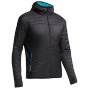 Mens Helix Hooded Jacket (Carbon/Alpine)