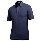 Mens Alpha 210g Merino Polo Shirt (Ocean/Silver)