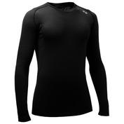 Mens 140g Long Sleeve Top (Black)