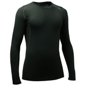 Mens Tommy 140g Merino Long Sleeve Top (Military Green)