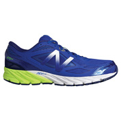 Mens 870v4 Shoes (Blue/Lime Yellow)