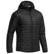 Mens Merino Helix Hooded Jacket (Black/Black/Black)