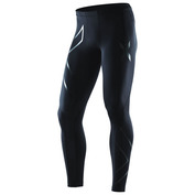 Mens Recovery Compression Tights (Black/Black)