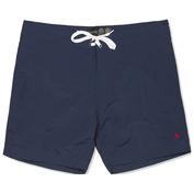 Mens Mathias Plain Swim Shorts (True Navy)