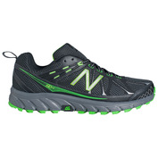 Mens 610 Shoes (Black\/Charcoal\/Green)
