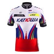 Mens Katusha Sepoir Short Sleeve Jersey