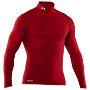 Mens EVO CG Compression Mock Top (Red)