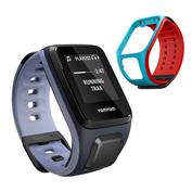 Runner 2 Cardio + Music GPS Watch/Strap (Dark Blue/Purple)