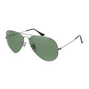 Aviator Sunglasses (Silver)