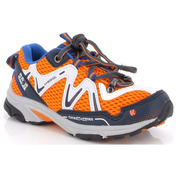 Kids Rimo Waterproof Trail Shoes (Orange)
