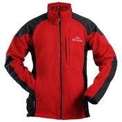 Mens Roald Fleece Jacket (Red\/Black)