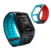 Runner 2 Cardio + Music GPS Watch/Strap (Dark Blue/Light Blue)