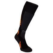 Ski Merino Socks (Black/Orange)