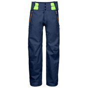 Mens Transition-Y 3 Layers Shell Pants (Navy Blue/Orange)