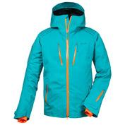 Mens Backyard Jacket (Deep Lake Green/Orange)