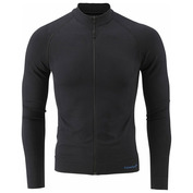 Mens Slipstream Long Sleeve Zip-Up (Black)