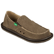 Mens Vagabond Sidewalk Surfers (Brown)