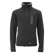 Mens Heated Softshell Jacket (Black)