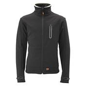 Mens Heated Softshell Jacket (Black)