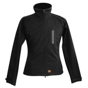 Womens Heated Softshell Jacket (Black)