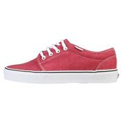 Mens Canvas Lace Up Shoes (Faded Red)