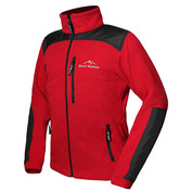 Mens Storm X-Block Fleece Jacket (Red\/Black)