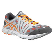 Mens GEL-LYTE33 2 Shoes (Soft Grey/Orange/Charcoal)