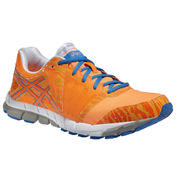 Mens GEL-LYTE33 2 Shoes (Bright Orange/Mid Blue/Silver)