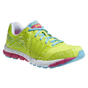Womens GEL-LYTE33 2 Shoes (Lime/Blue Atoll/Fuchsia Purple)