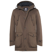 Mens Taylor Padded 2-Layer Winter Parka (Soil)