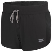 Womens Performance 2-In-1 Shorts (Black)