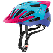 Quat Pro Helmet (Cyan/Pink)