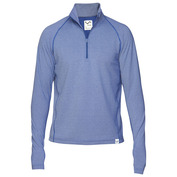 Mens Casual Zip Top (Blue)