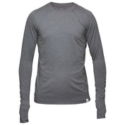 Mens Muscle Up Long Sleeve Top (Grey)