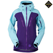 Womens Voodoo GTX Jacket (Plum Purple\/Lightning Blue)
