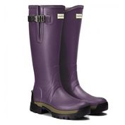 Womens Balmoral Side Adjustable 3mm Neoprene Wellington Boots (Dark Iris)