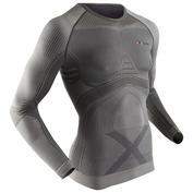 Mens Radiactor Long Sleeve Top (Iron/Black)